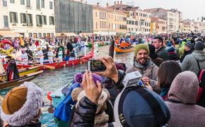 Venice Carnival celebrations