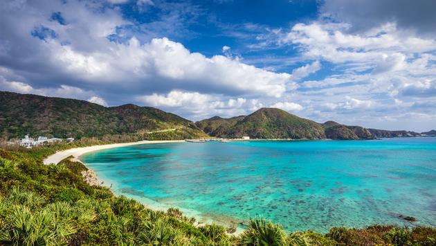 Aharen Beach on Tokashiki Island in Okinawa, Japan (photo courtesy of SeanPavonePhoto / iStock / Getty Images Plus)