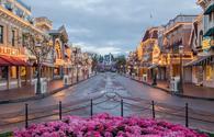 Main Street USA at the original Disneyland Park.