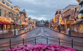 Main Street USA at the original Disneyland Park.