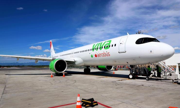 Los pasajeros de Viva Aerobus que deseen volar a Estados Undos deberán realizarse pruebas PCR o de antígenos 3 días antes del inicio de su viaje. (Foto de Viva Aerobus).