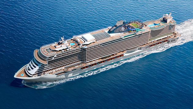 MSC Cruises' MSC Seaside