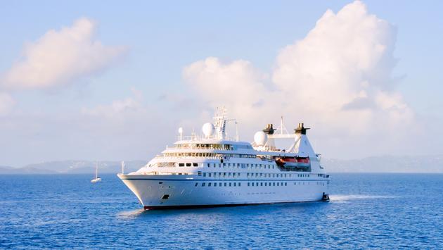 Windstar's Star Legend at sea