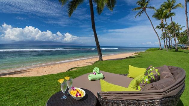 Daybed Hyatt Maui