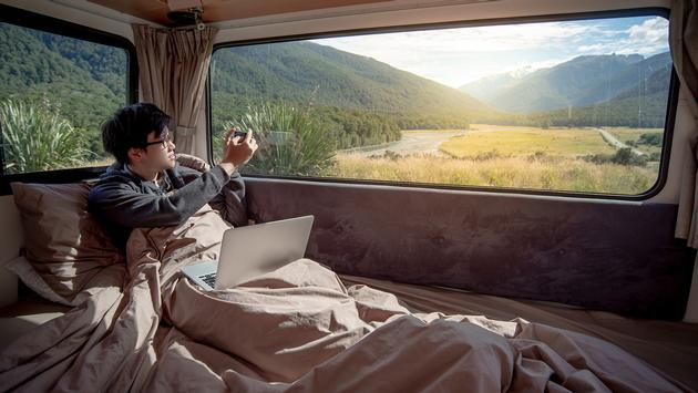 RV workspace.