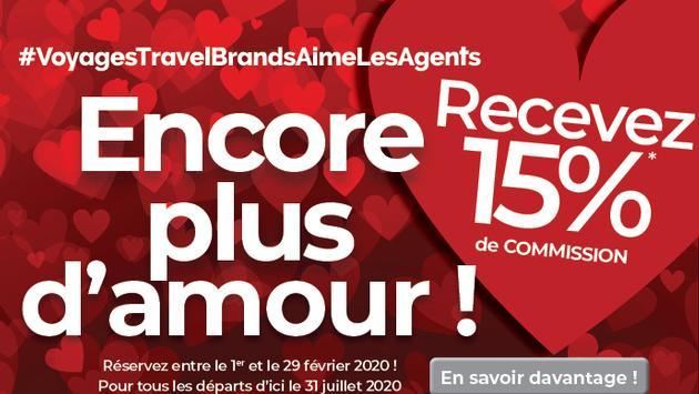 Promo de Saint-Valentin de TravelBrands