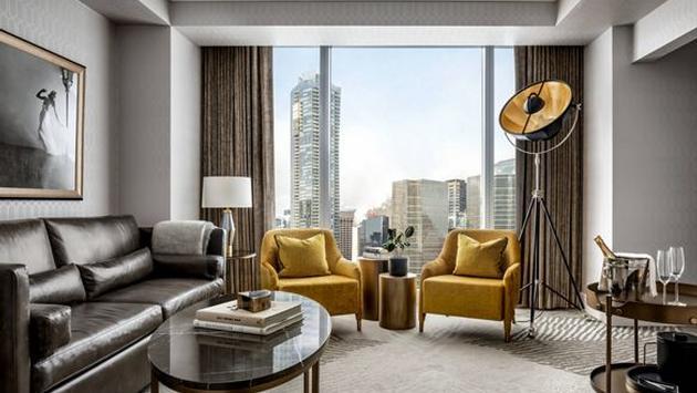 Une suite rénovée au Ritz-Carlton Toronto