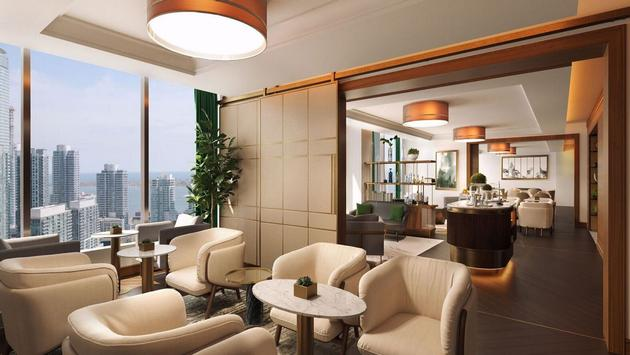 Le nouveau Club Lounge du Ritz-Carlton Toronto