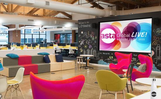 ASTA Global Live lounge