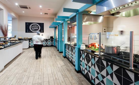 Restaurant Ocean Terrace, Sonesta Maho Beach