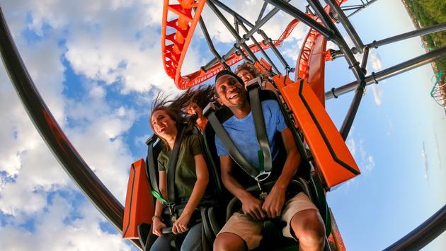 Busch Gardens, Tigris, roller coaster