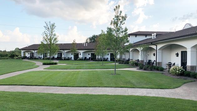 The Casa's exterior