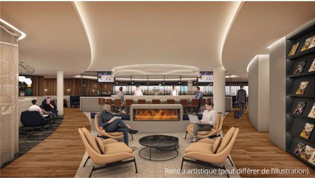 Le nouveau salon signature WestJet