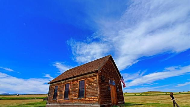 old sedan church-montana