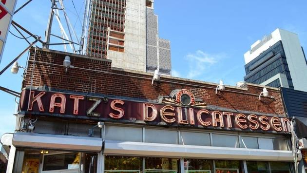 Katz's Delicatessen in New York City