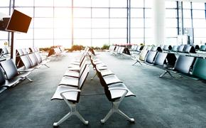 airport, gate, terminal, TV, chairs