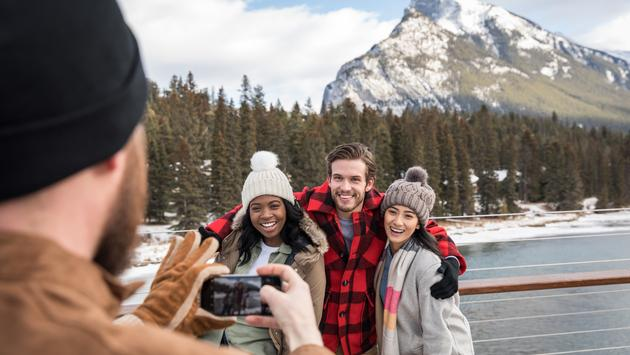 Contiki Tours in Banff