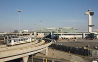 New York's JFK International Airport.