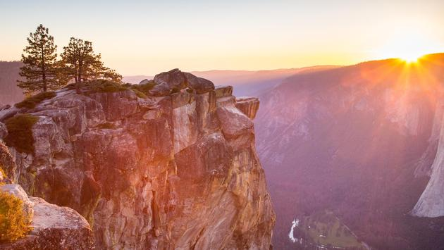 Taft Point Sunset, Yosemite National Park