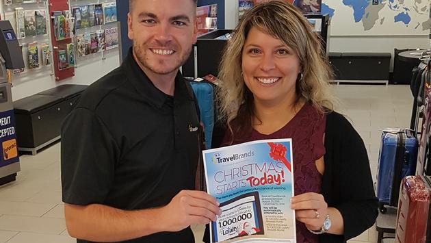 TravelBrands Monthly contest