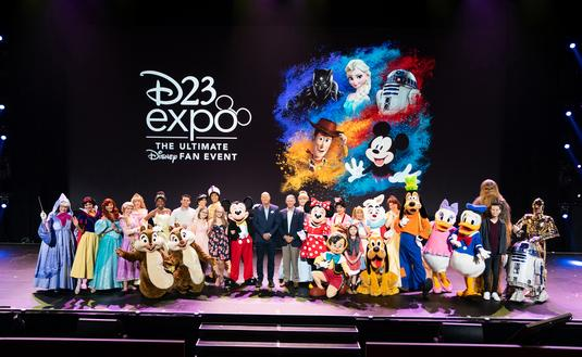 Disney's D23 Expo Bob Chapek Make A Wish