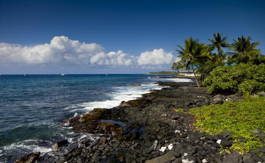 Kona Kailua Coastline