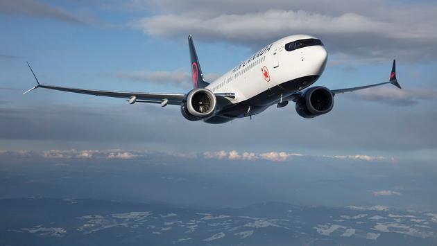 Air Canada's Boeing 737 Max 8.