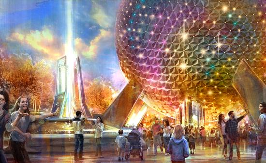 New Entrance at Epcot