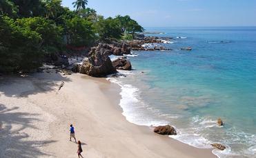 Puerto Vallarta shoreline