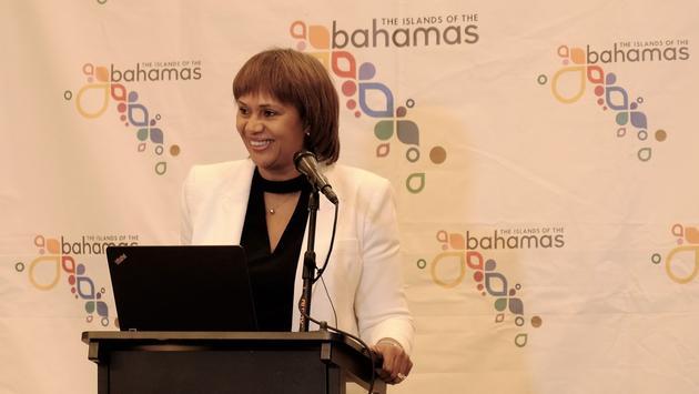 Joy Jibrilu, director general of tourism, The Bahamas