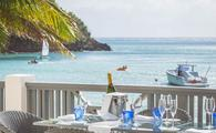 The Carlisle Bay resort on Antigua.