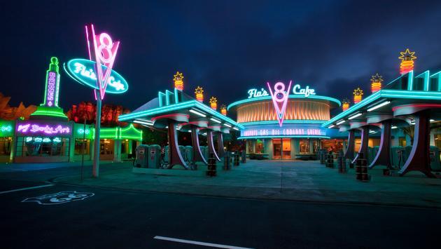 Flo's V8 Cafe, Disneyland