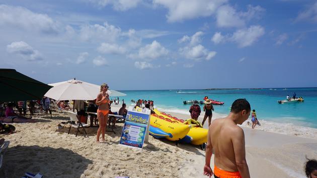Nassau's Cabbage Beach
