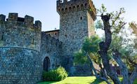 Castello di Amorosa, an authentic medieval castle and winery in Napa Valley