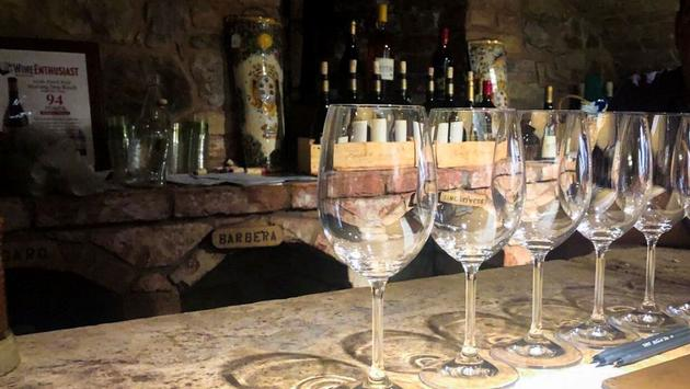 Wine tasting at Castello di Amorosa in Napa Valley