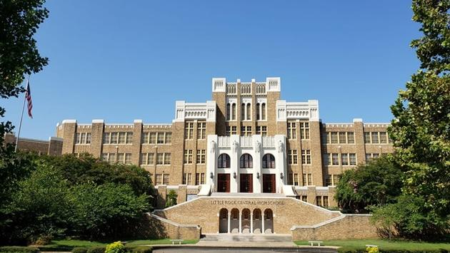 Little rock, arkansas high school