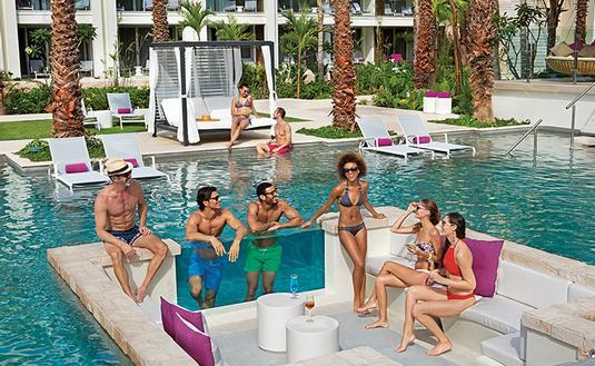 Energy Pool at Breathless Riviera Cancun Resort & Spa
