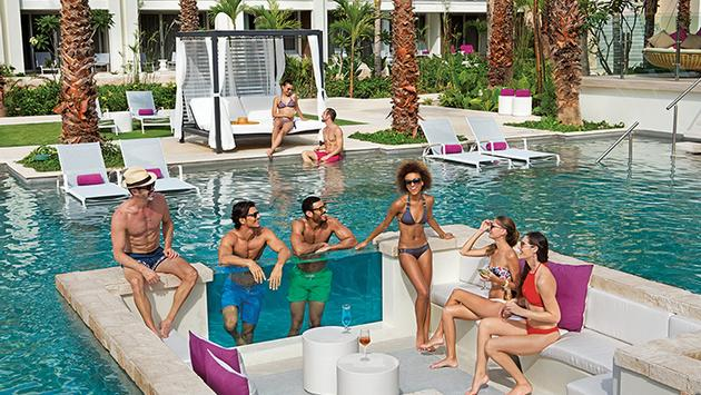 Energy Pool at Breathless Riviera Cancun Resort & Spa