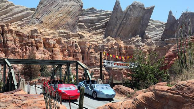 Radiator Springs Racers at Disneyland