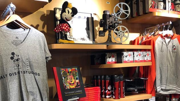 Walt Disney Studio Store Merch at Disneyland