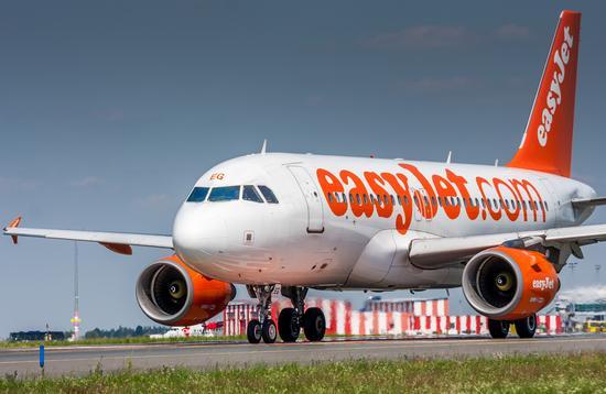 plane, easyjet, travel
