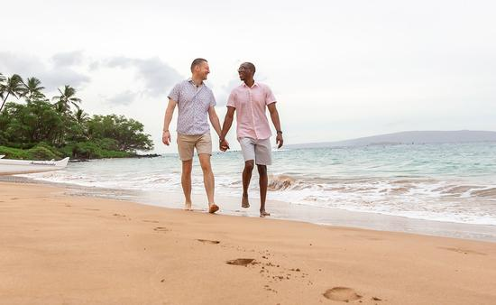 Maui LGBTQ couple