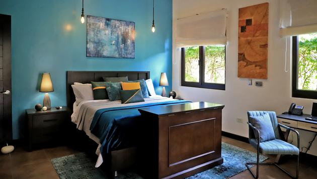 Oasis suite at Villa Buena Onda hotel in Guanacaste, Costa Rica.