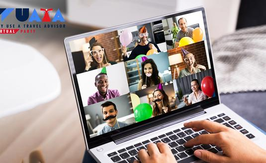 virtual WUATA party for consumers and agents