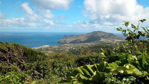 Montserrat, island, Caribbean