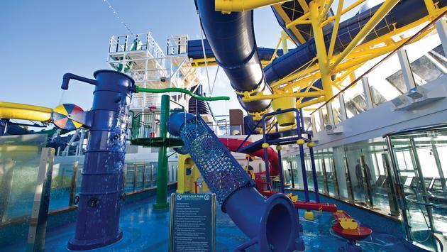 Norwegian Escape's Kid's AquaPark