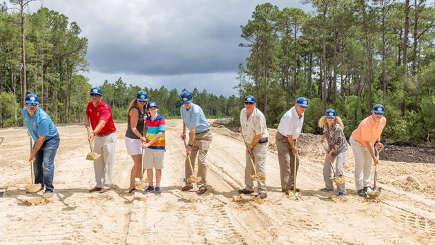 Panama City Beach Sports Complex groundbreaking