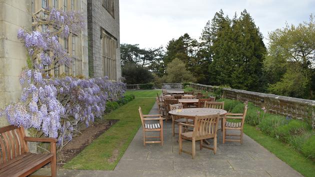 Terrasse extérieure, Bovey Castle