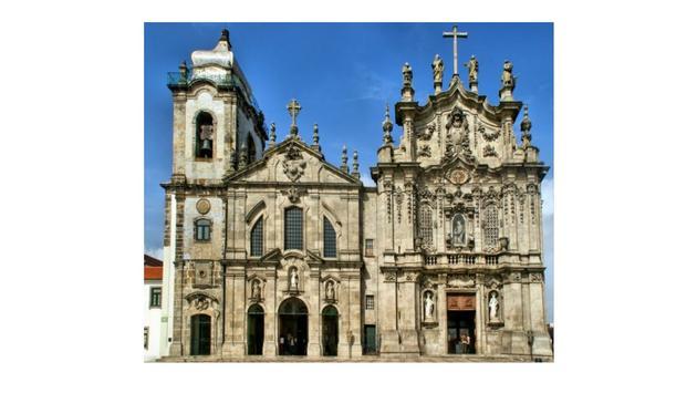 Carmelitas and Carmo Churches in Porto, Portugal