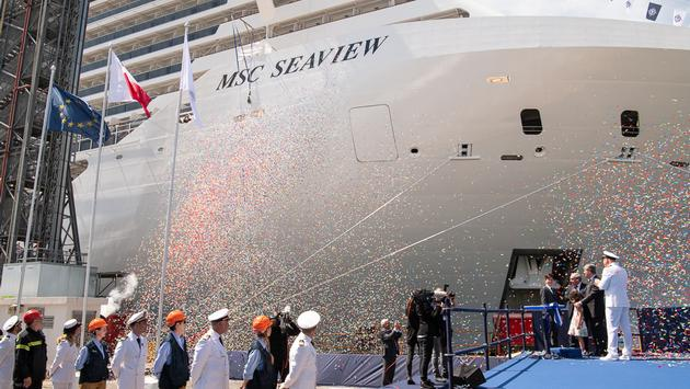 MSC Seaview Delivery